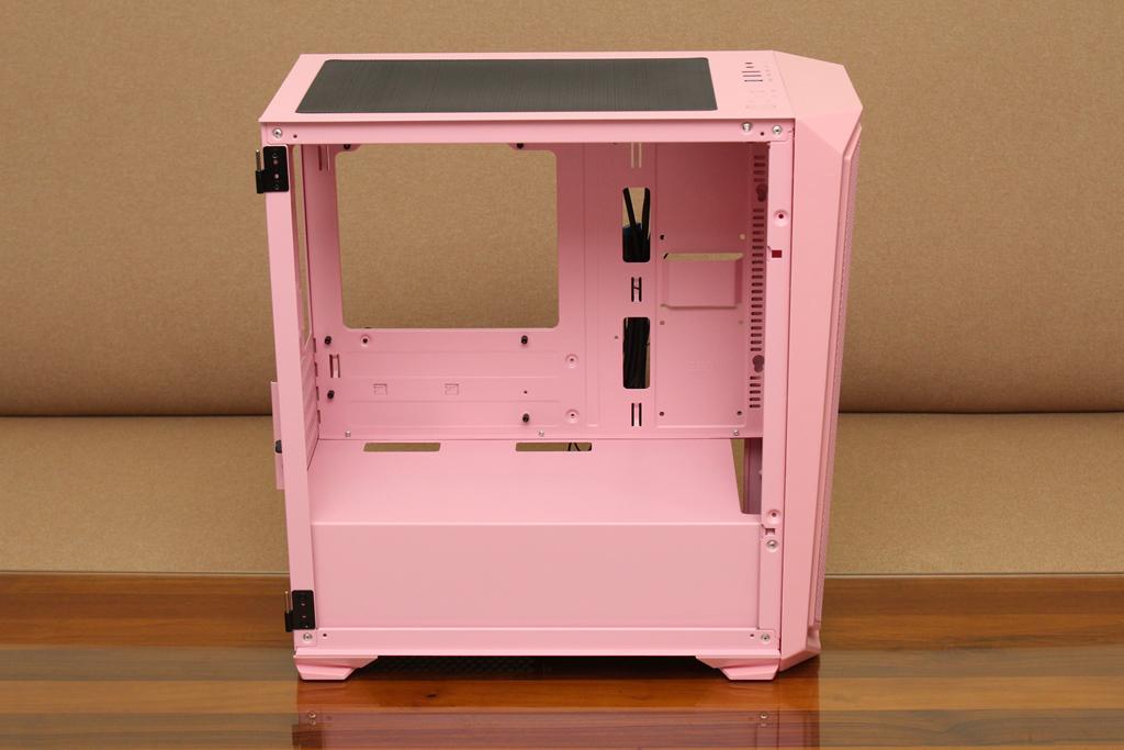 亞碩Power Master M2 mATX鋼化玻璃透側機殼-繽紛少女心,擴充...6480