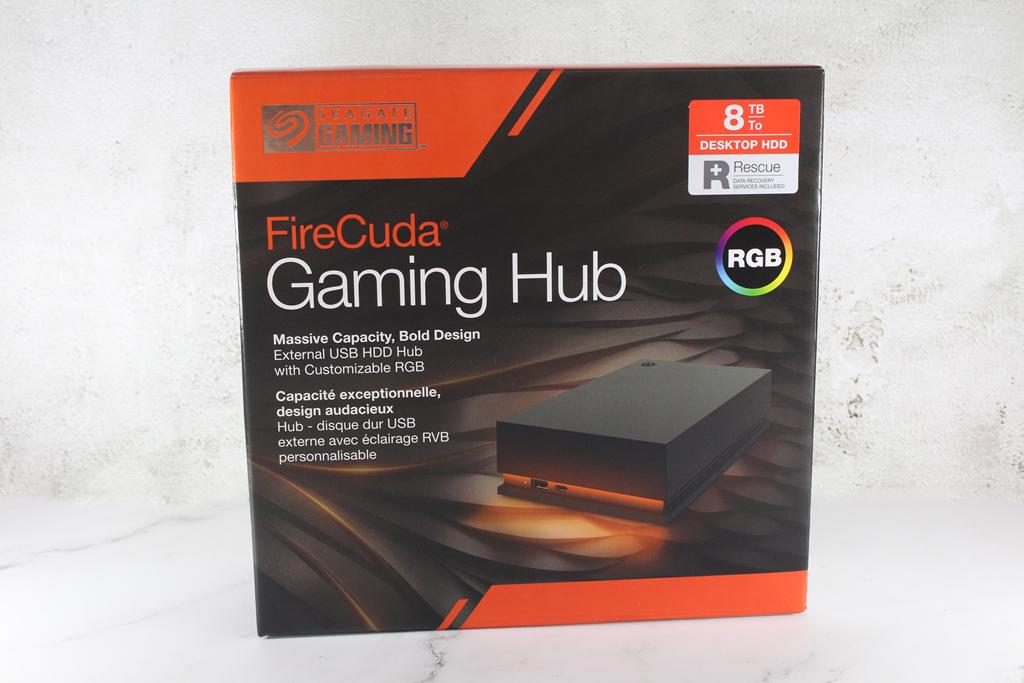 希捷Seagate FireCuda Gaming Hub遊戲擴充工作站-大容量儲存遊戲...7766