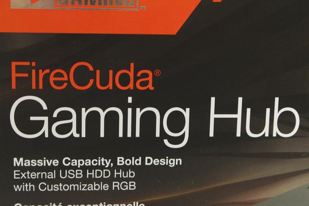 希捷Seagate FireCuda Gaming Hub遊戲擴充工作站-大容量儲存遊戲...2557