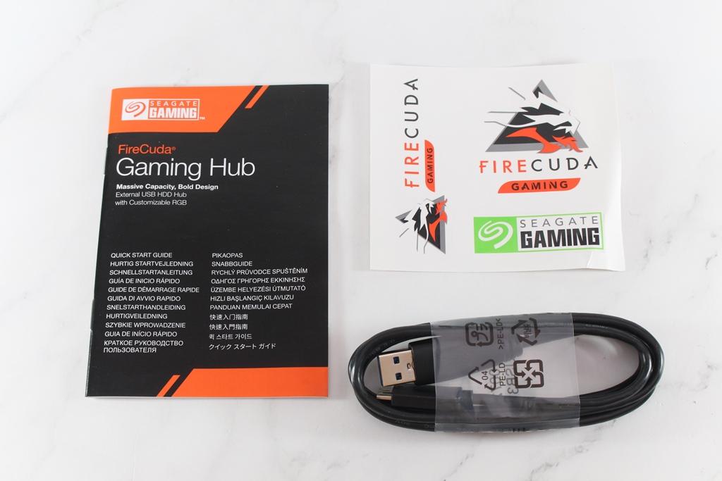 希捷Seagate FireCuda Gaming Hub遊戲擴充工作站-大容量儲存遊戲...5792