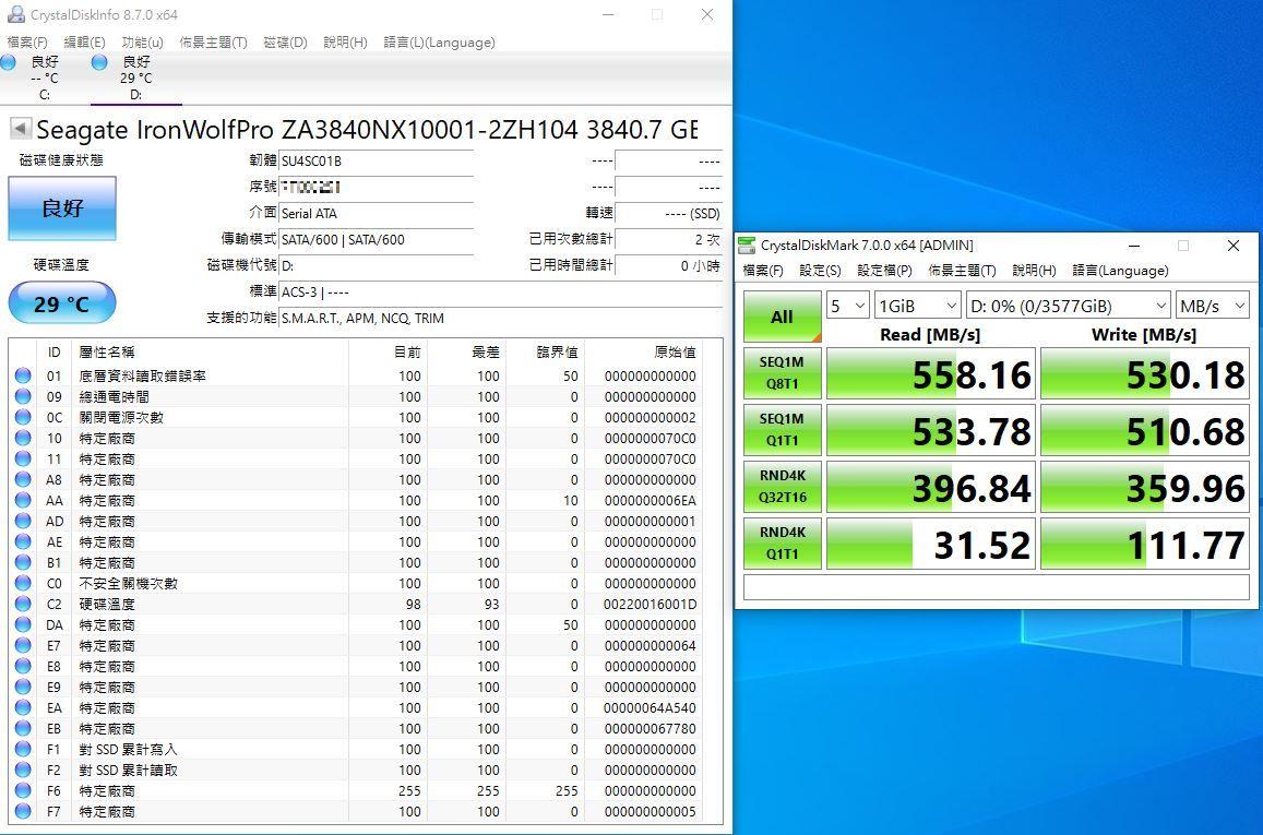 希捷Seagate IronWolf Pro 125 SSD-大容量3.84TB固態硬碟+優質五年...3932