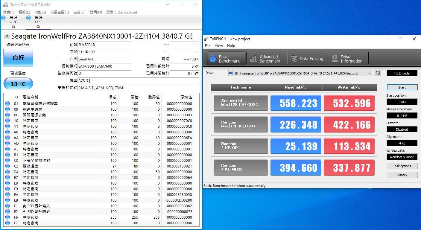 希捷Seagate IronWolf Pro 125 SSD-大容量3.84TB固態硬碟+優質五年...7004