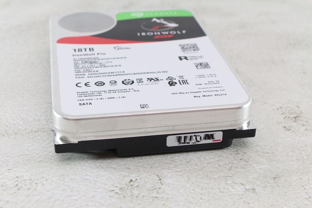 希捷Seagate IronWolf Pro 18TB NAS專用硬碟-儲存巨獸那嘶狼,優...107