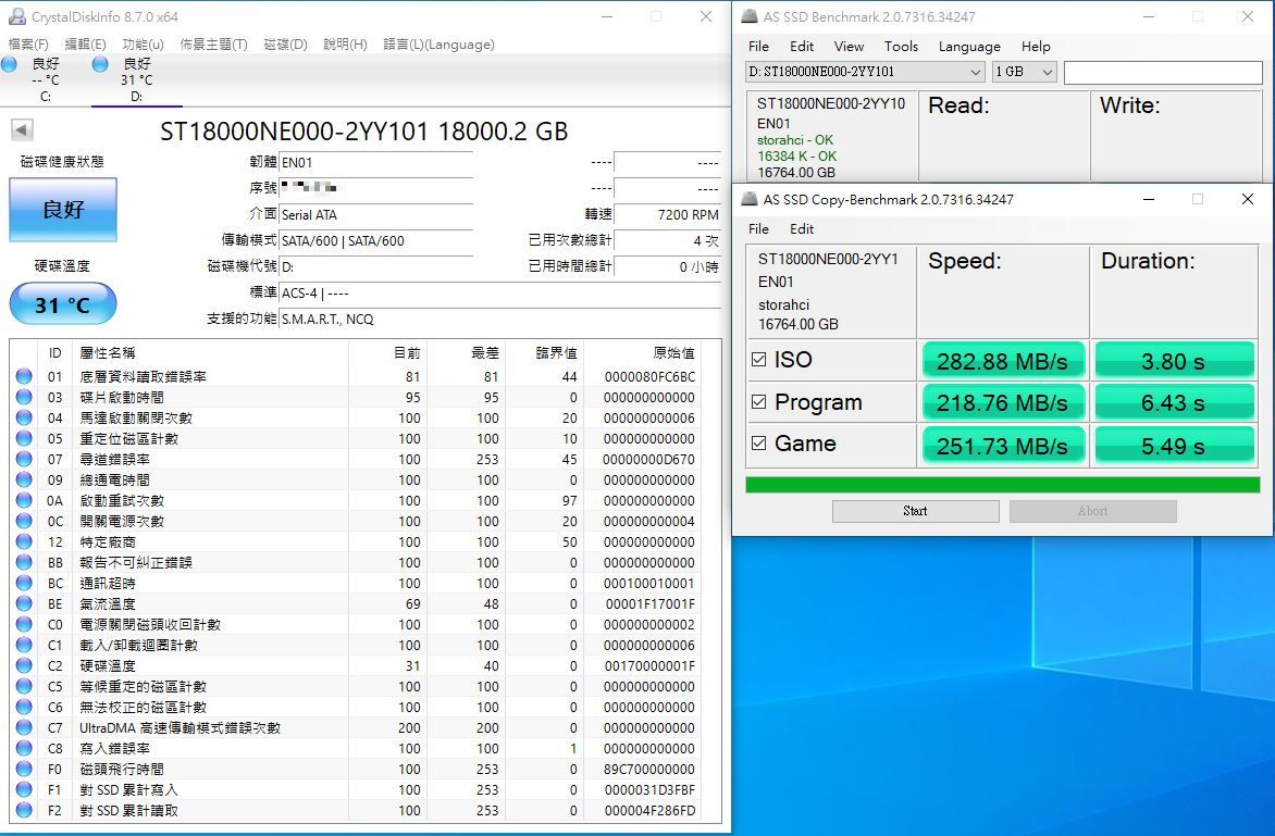希捷Seagate IronWolf Pro 18TB NAS專用硬碟-儲存巨獸那嘶狼,優...3516