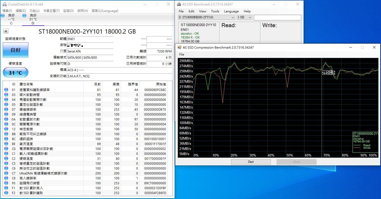 希捷Seagate IronWolf Pro 18TB NAS專用硬碟-儲存巨獸那嘶狼,優...2746