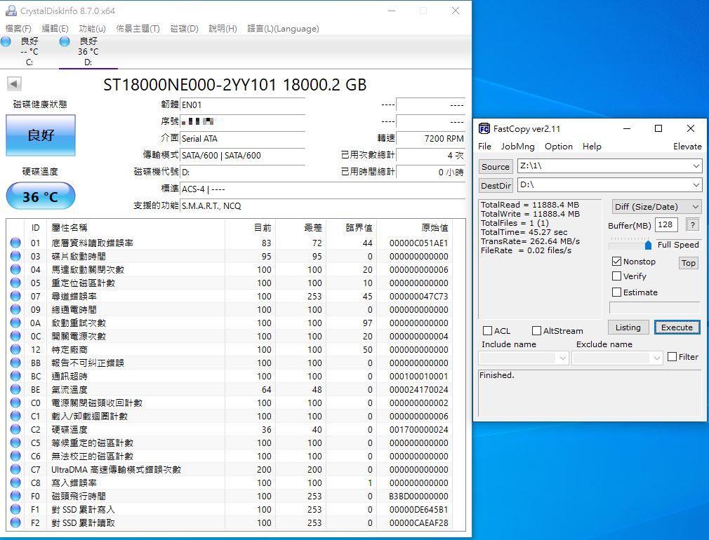 希捷Seagate IronWolf Pro 18TB NAS專用硬碟-儲存巨獸那嘶狼,優...862