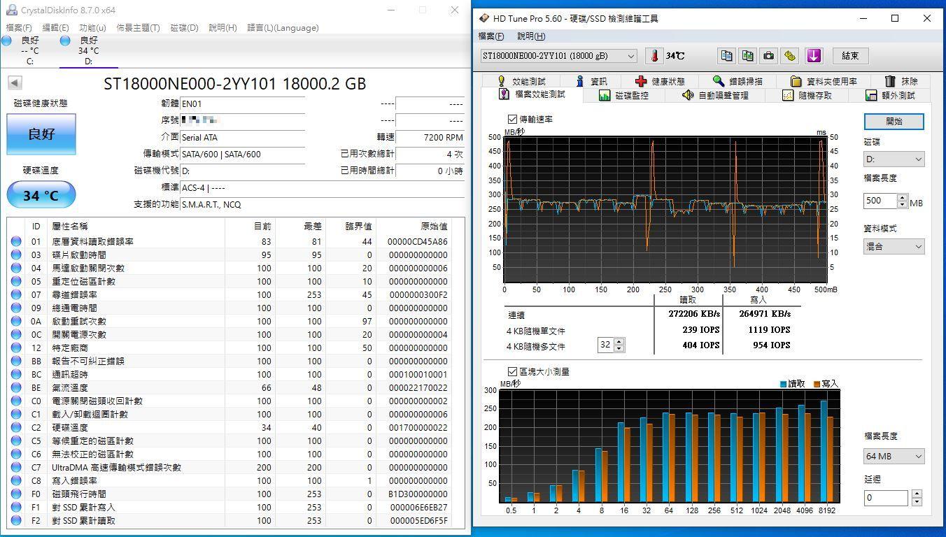 希捷Seagate IronWolf Pro 18TB NAS專用硬碟-儲存巨獸那嘶狼,優...5344