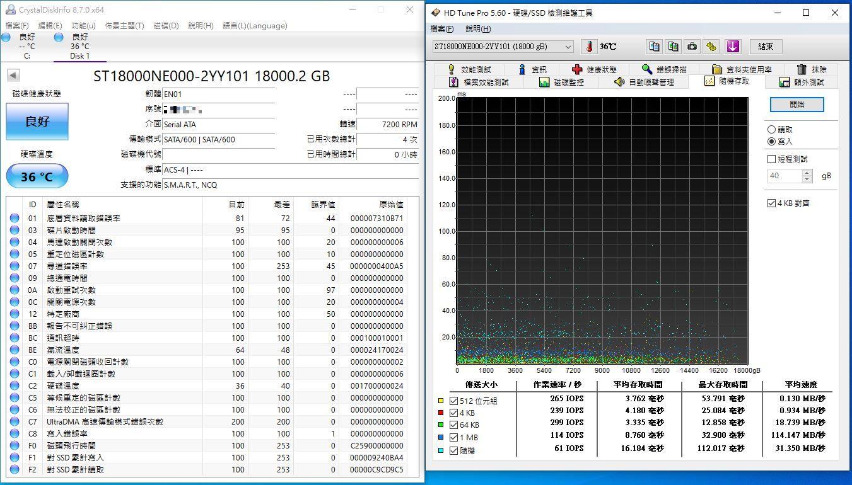 希捷Seagate IronWolf Pro 18TB NAS專用硬碟-儲存巨獸那嘶狼,優...1845