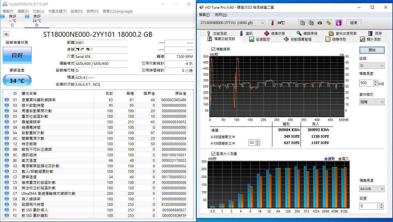 希捷Seagate IronWolf Pro 18TB NAS專用硬碟-儲存巨獸那嘶狼,優...3797