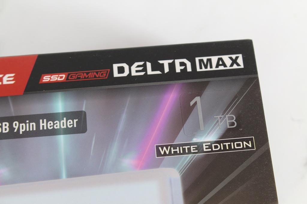 十銓T-FORCE DELTA MAX WHITE RGB SSD固態硬碟-ARGB發光還不夠,白...8044