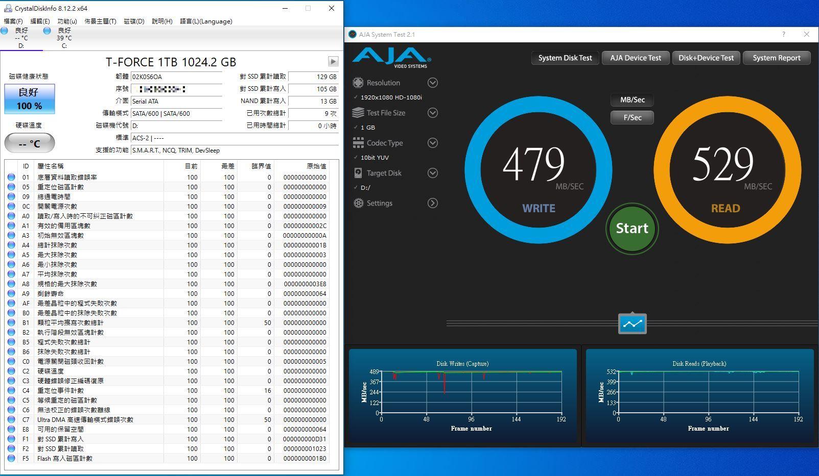 十銓T-FORCE DELTA MAX WHITE RGB SSD固態硬碟-ARGB發光還不夠,白...7013
