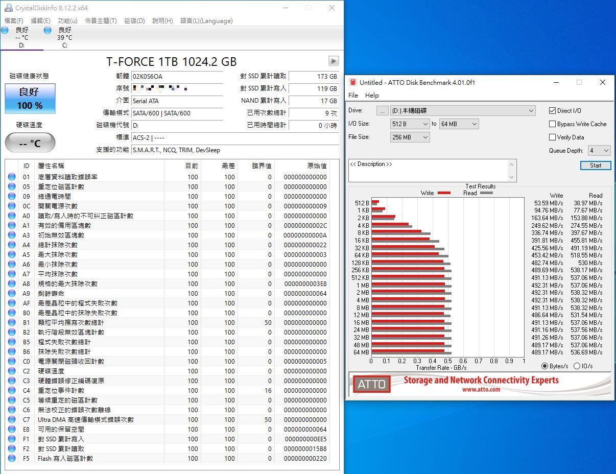 十銓T-FORCE DELTA MAX WHITE RGB SSD固態硬碟-ARGB發光還不夠,白...930
