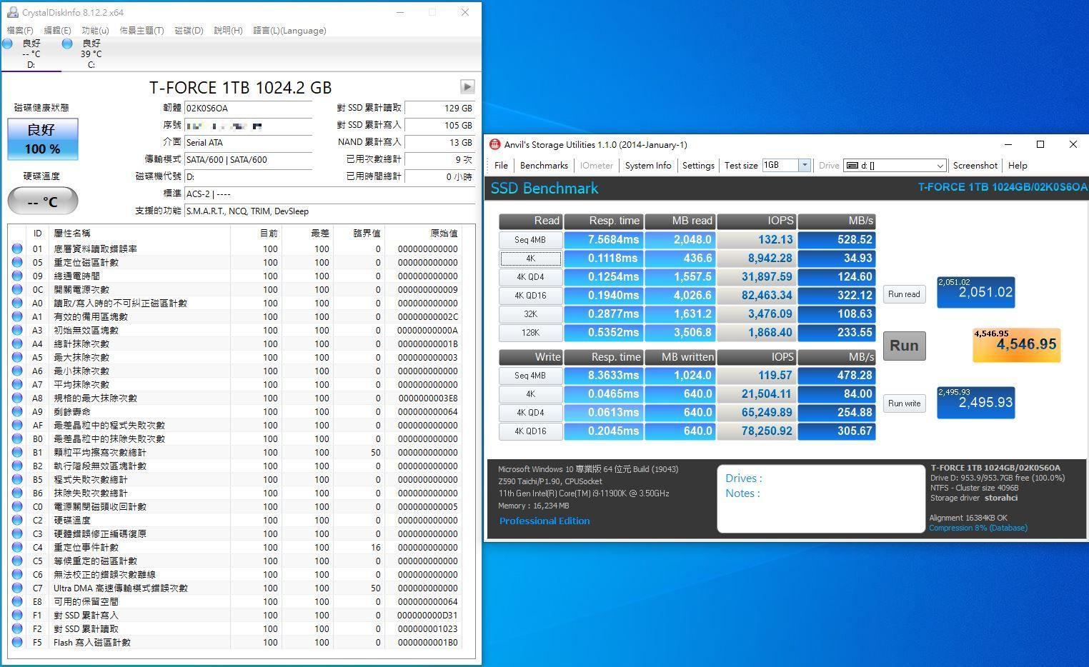 十銓T-FORCE DELTA MAX WHITE RGB SSD固態硬碟-ARGB發光還不夠,白...6700