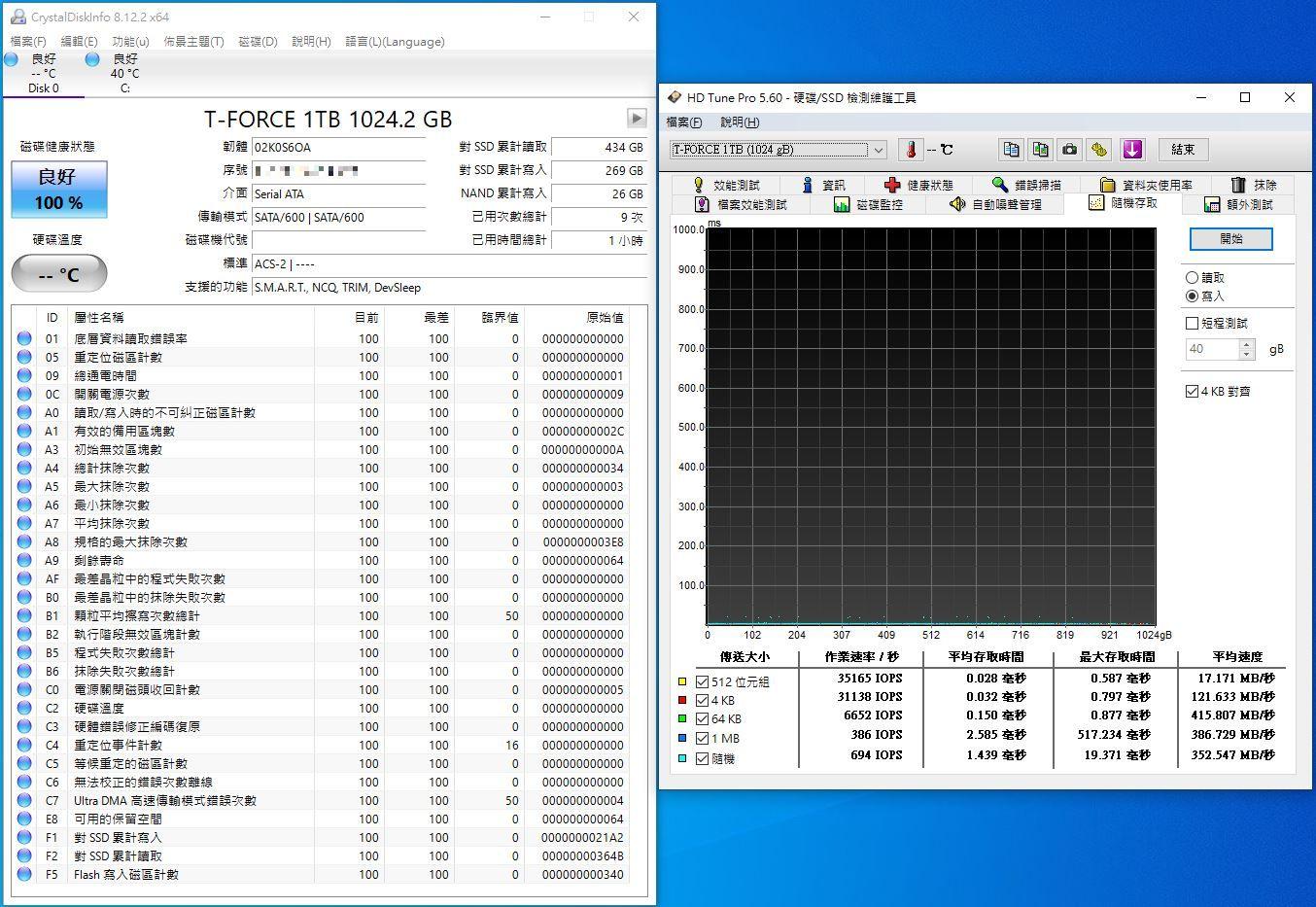 十銓T-FORCE DELTA MAX WHITE RGB SSD固態硬碟-ARGB發光還不夠,白...4016