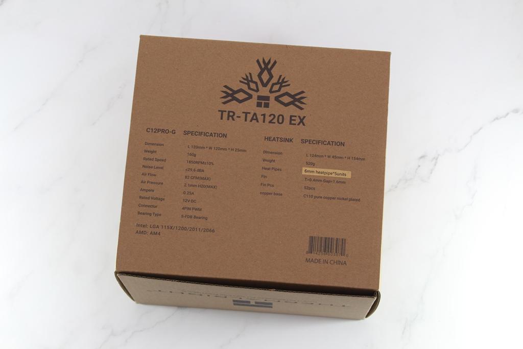 索摩樂Thermalright TR-TA 120 EX塔型散熱器-小塔能耐不容小覷9458