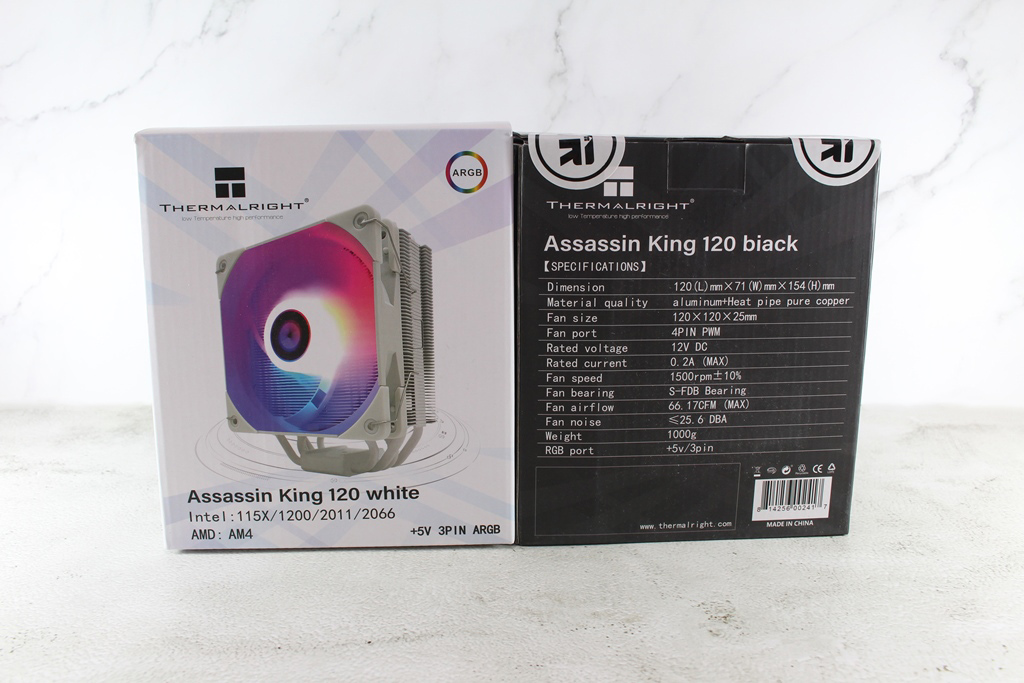 索摩樂Thermalright Assassin King 120 Plus & ARGB塔型散熱器-雙風扇...2472