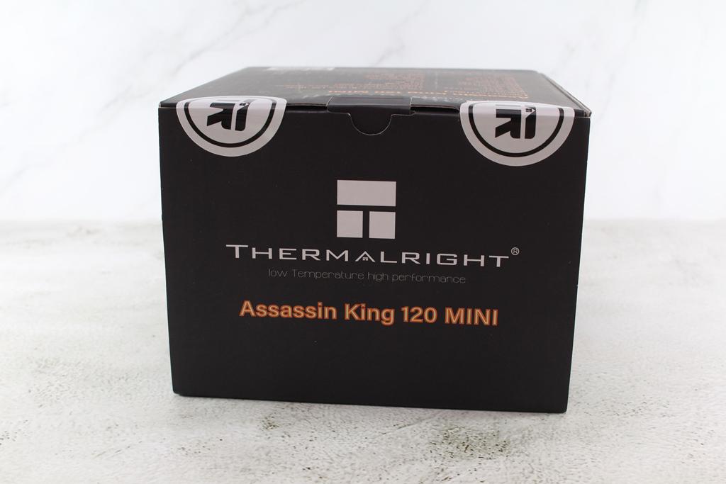 索摩樂Thermalright Assassin King 120 Mini塔型散熱器-小塔也能壓...7704