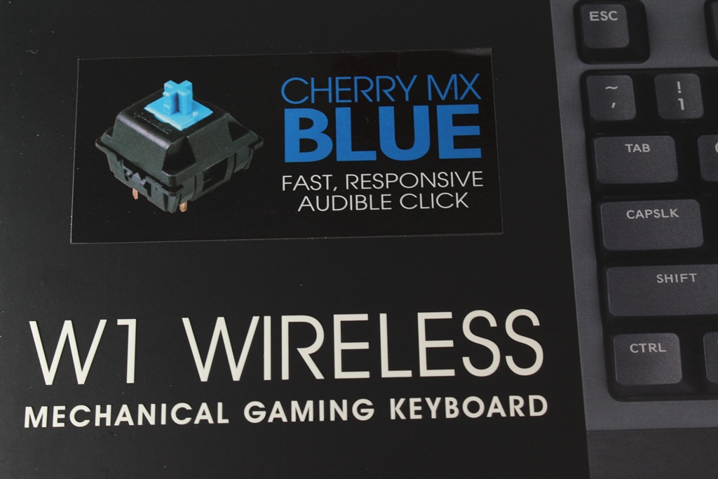 曜越Thermaltake W1三模無線 機械式電競鍵盤