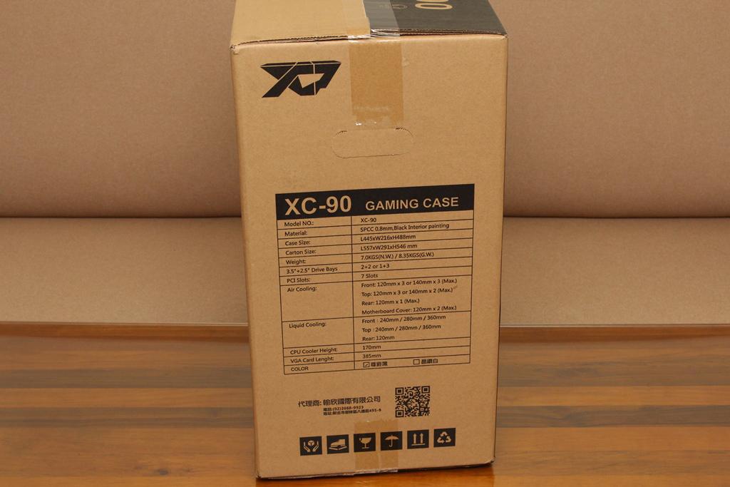 XCP XC-90鋼化玻璃透側機殼-優質散熱設計與低調內斂質感風...2981