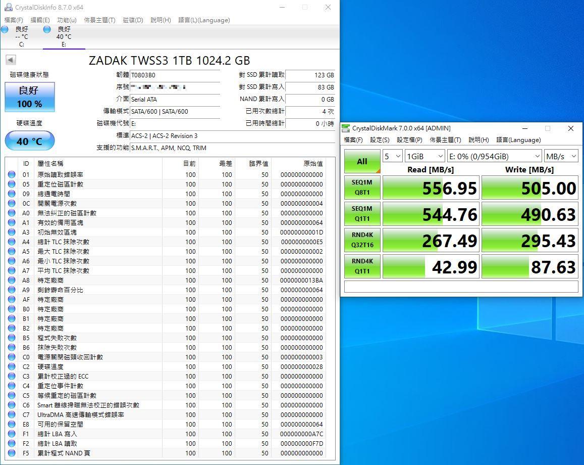 ZADAK TWSS3 SSD固態硬碟-大容量平價新選擇
