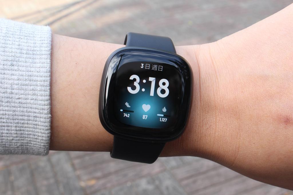 Fitbit Versa 3智慧手錶-內建GPS功能更全面,健康資訊一手掌握7280