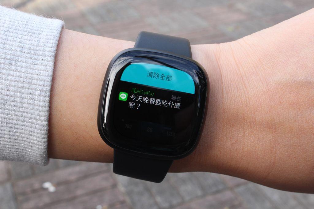Fitbit Versa 3智慧手錶-內建GPS功能更全面,健康資訊一手掌握9391