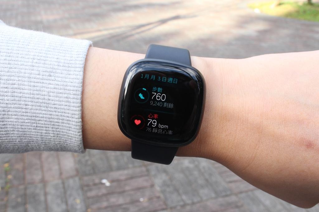 Fitbit Versa 3智慧手錶-內建GPS功能更全面,健康資訊一手掌握2082