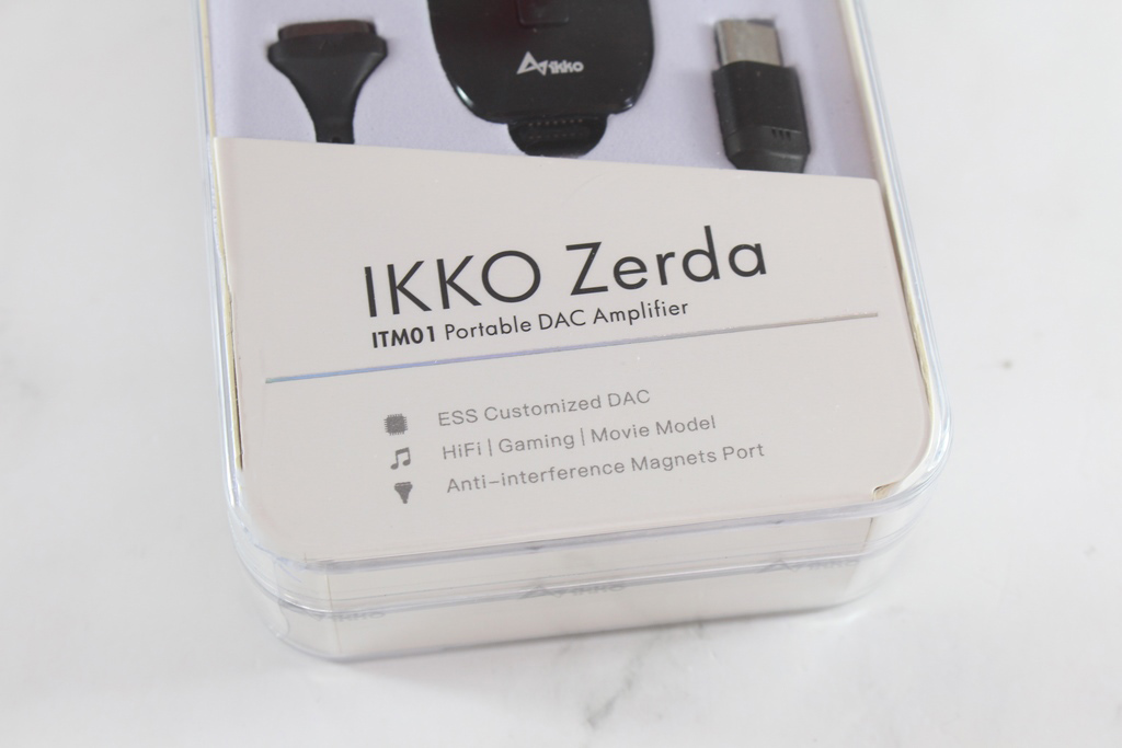 iKKO Zerda ITM01 USB DAC 隨身耳機擴大機-行動優質美聲,Switch遊戲機也可以使用