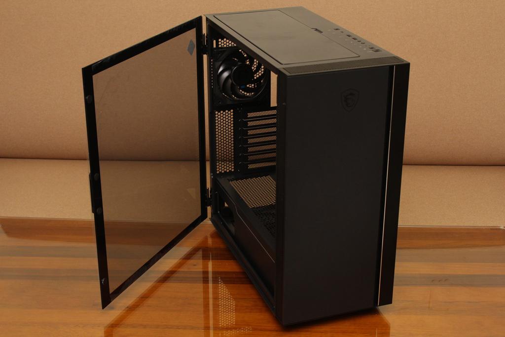 微星msi MPG QUIETUDE 100S鋼化玻璃靜音機殼-靜音、擴充、視覺...2612