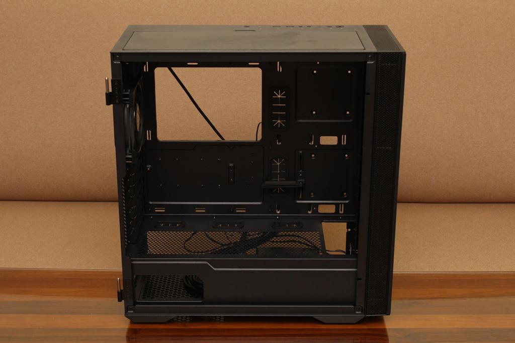 微星msi MPG QUIETUDE 100S鋼化玻璃靜音機殼-靜音、擴充、視覺...4852