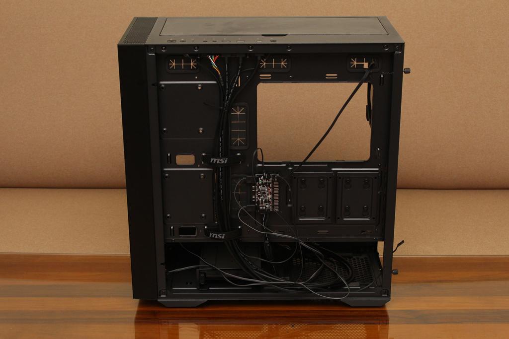微星msi MPG QUIETUDE 100S鋼化玻璃靜音機殼-靜音、擴充、視覺...782