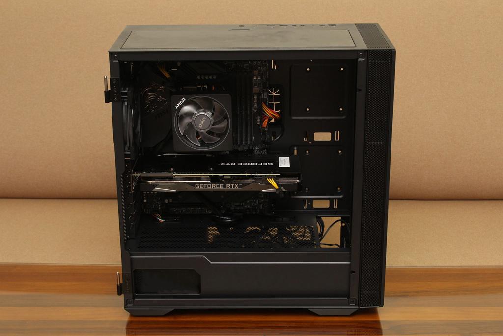 微星msi MPG QUIETUDE 100S鋼化玻璃靜音機殼-靜音、擴充、視覺...72