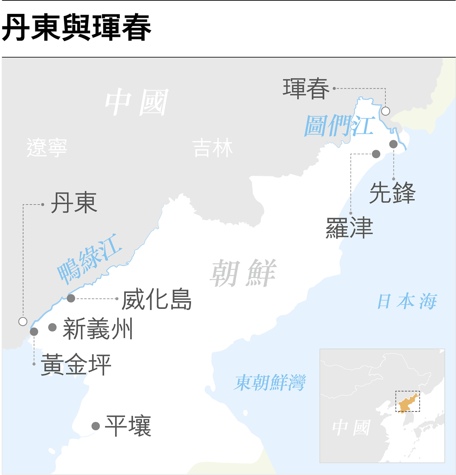 邊城興衰 丹東與琿春的「雙城記」-多維cn期刊-多維新聞網