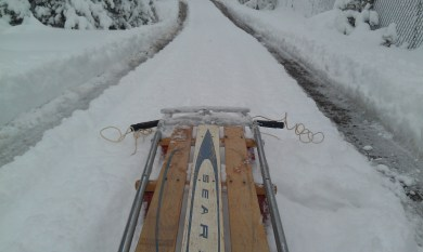 Time to sled...