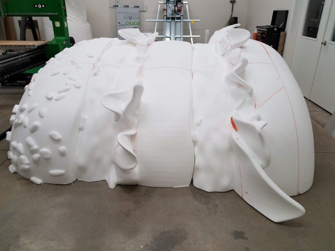 Foam Sculpting - Fully Assembled Big Mac Sections