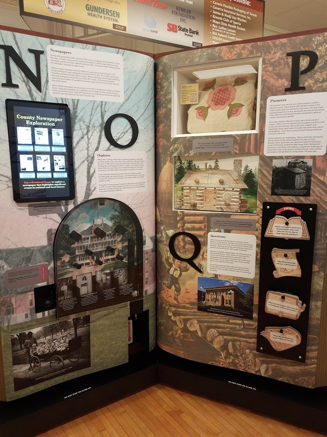 Interactive Exhibit Monroe County N-Q Pages