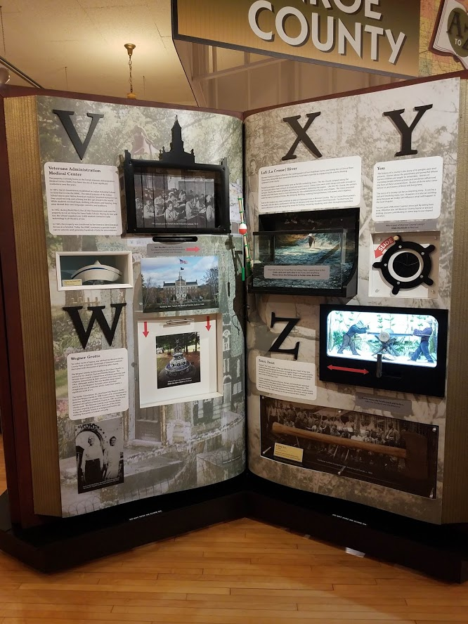 Interactive Exhibit Monroe County V-Z Pages