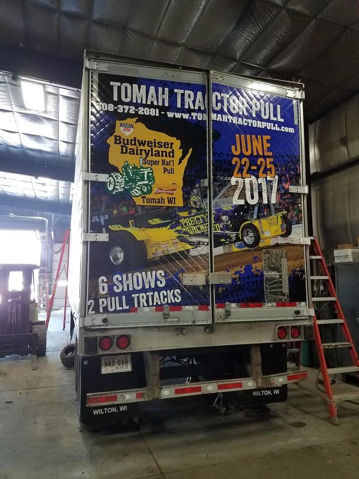 Sagehorn Trucking Semi Wrap Back