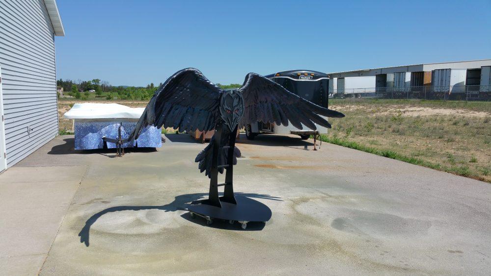 Foam Sculpting - NFL Team Foam Sculpting - Baltimore Raven's Photo Op Props - Baltimore Ravens