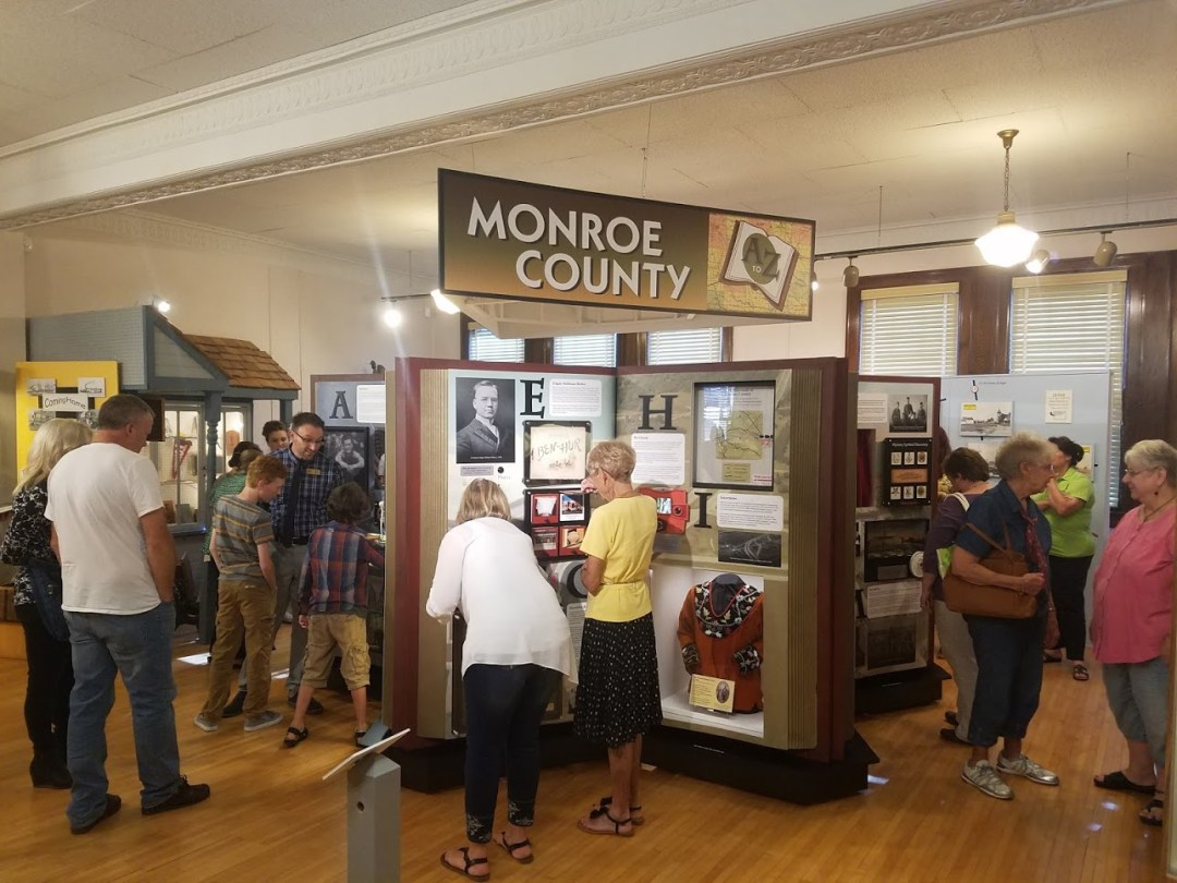 Museum Exhibit - Monroe County A to Z