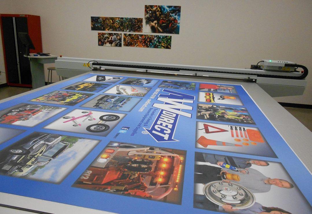 Fabric Tradeshow Banner