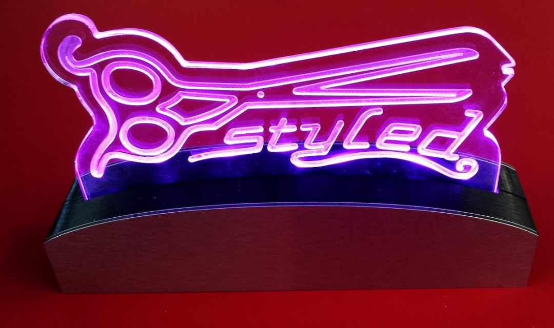 B-Styled LED Logo Light