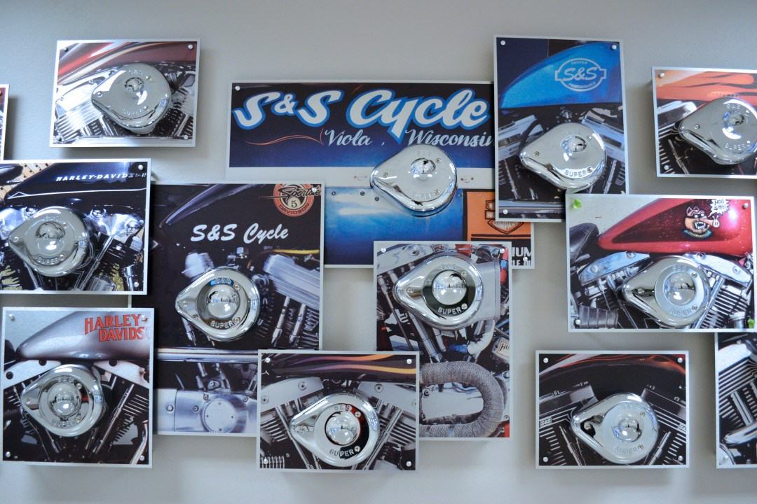 Custom  Design - Employee Recognition - S&S Cycle 25 Year Honor Board
