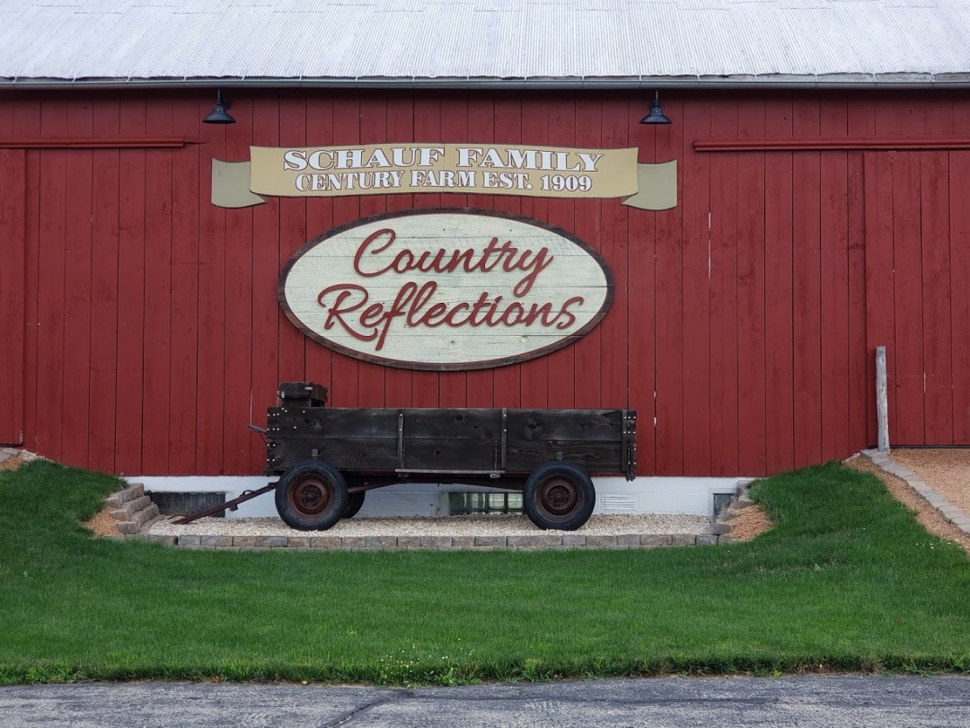 Country Reflections - Barn Sign