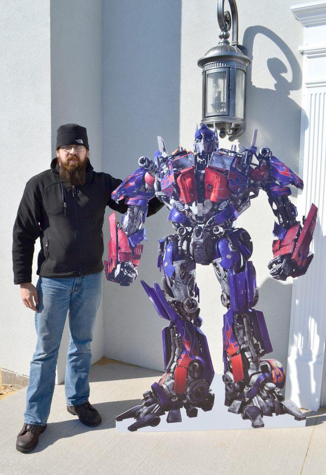 Transformer Standee