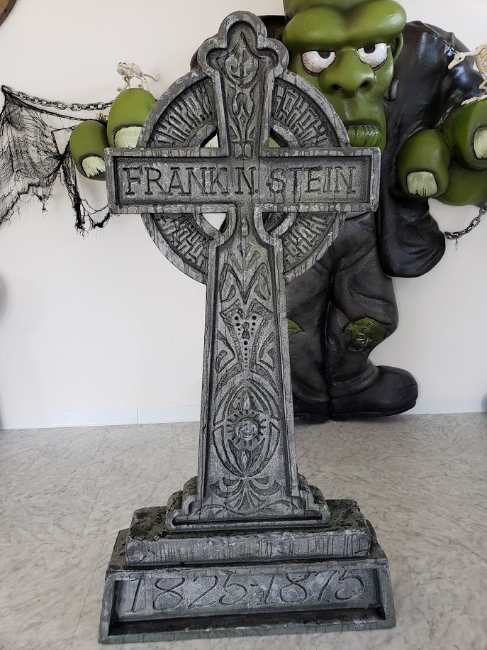 Halloween Themed Display Elements - Frankenstein