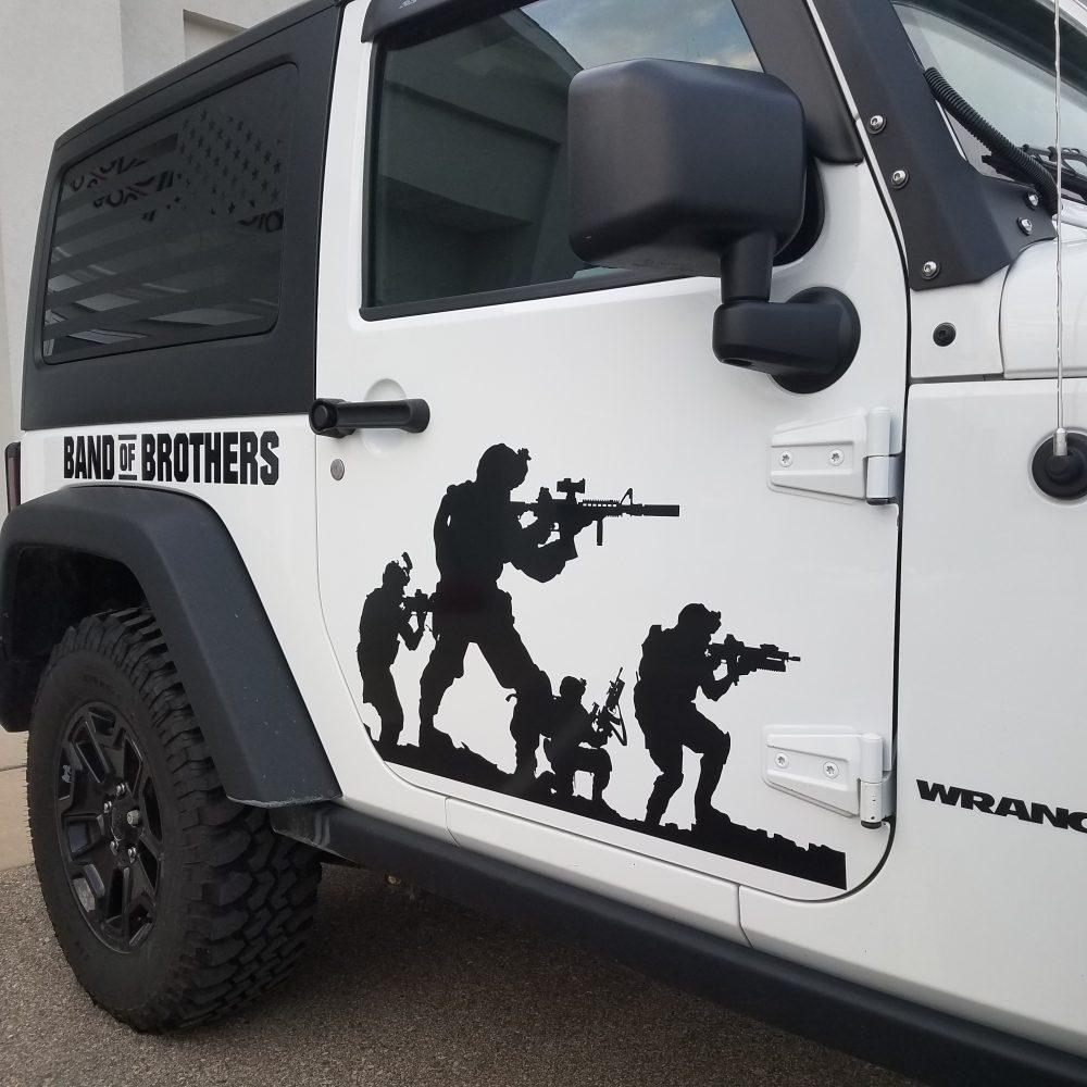 Jeep Vehicle Wrap - Side Detail