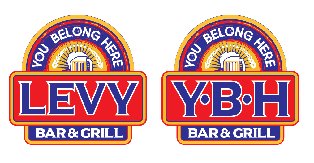 LEVY& YBH Logo Design