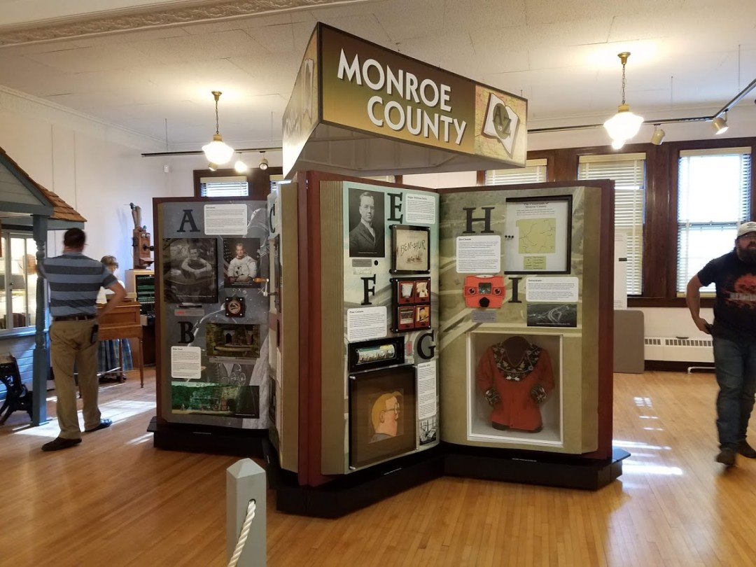 Award Winning Interactive Display for the Monroe County Local History Museum