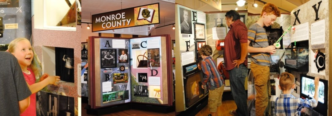 Monroe County A to Z Display Finished
